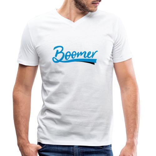Boomer - 2 color text - diy - Stanley & Stellan miesten luomupikeepaita
