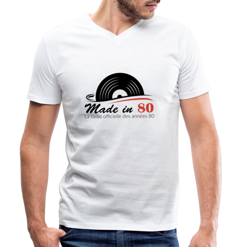 Made in 80 - T-shirt bio col V Stanley & Stella Homme