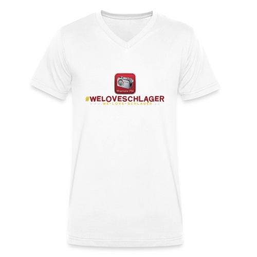 WeLoveSchlager de - Männer Bio-T-Shirt mit V-Ausschnitt von Stanley & Stella