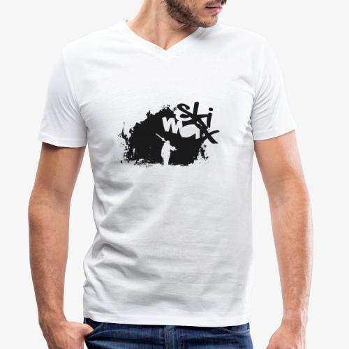 Ski Max - Men's Organic V-Neck T-Shirt by Stanley & Stella