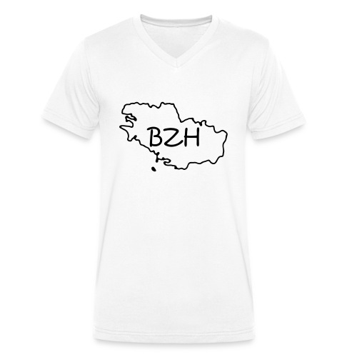 bretagne - T-shirt bio col V Stanley & Stella Homme