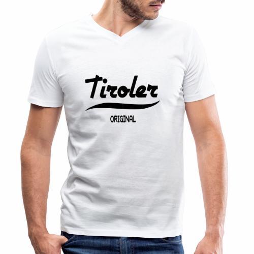 Tirol - Männer Bio-T-Shirt mit V-Ausschnitt von Stanley & Stella