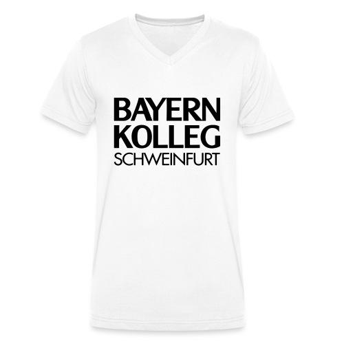 bayern kolleg schweinfurt - Männer Bio-T-Shirt mit V-Ausschnitt von Stanley & Stella