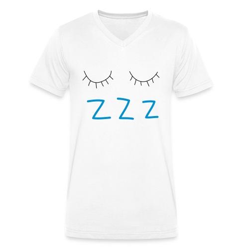 sleep - Men's Organic V-Neck T-Shirt by Stanley & Stella
