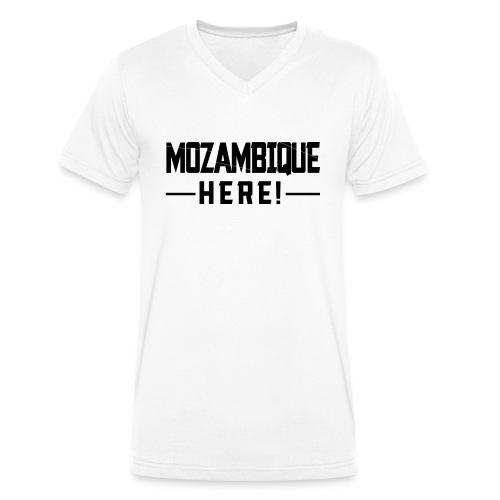 MOZAMBIQUE HERE! - Männer Bio-T-Shirt mit V-Ausschnitt von Stanley & Stella