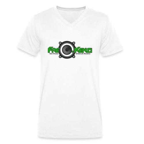 FreQ.Kenzi Logo - Männer Bio-T-Shirt mit V-Ausschnitt von Stanley & Stella