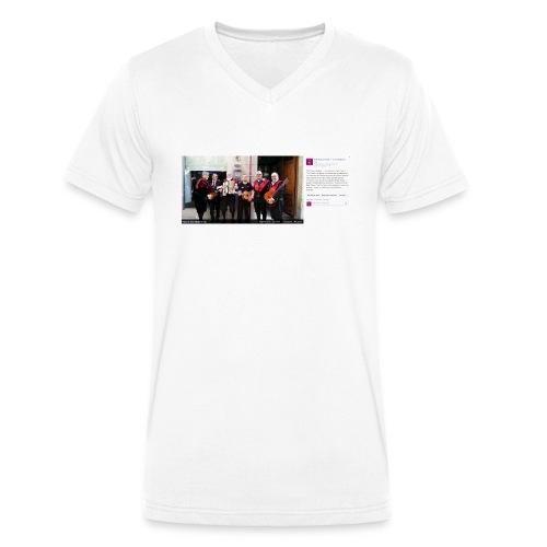 tunaTCR-jpg - Camiseta ecológica hombre con cuello de pico de Stanley & Stella