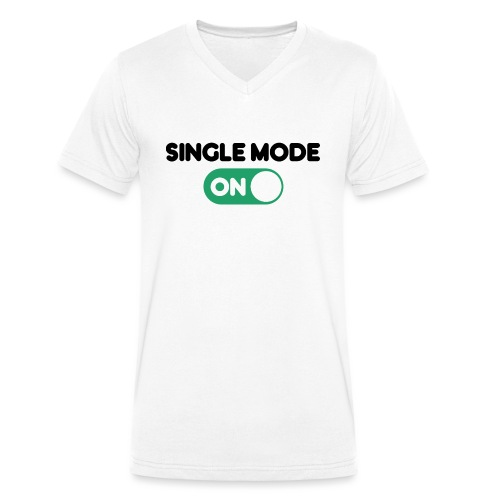 single mode ON - T-shirt ecologica da uomo con scollo a V di Stanley & Stella