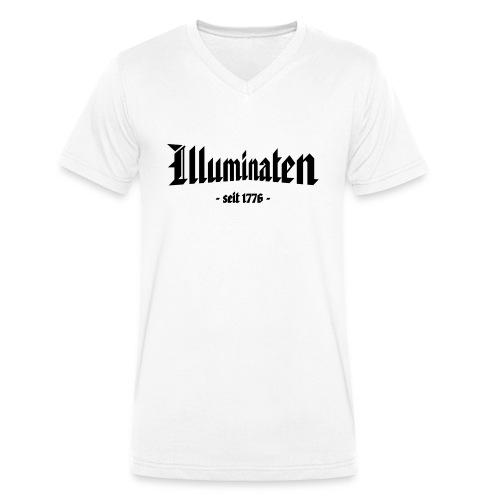 Illuminaten - seit 1776 - - Männer Bio-T-Shirt mit V-Ausschnitt von Stanley & Stella