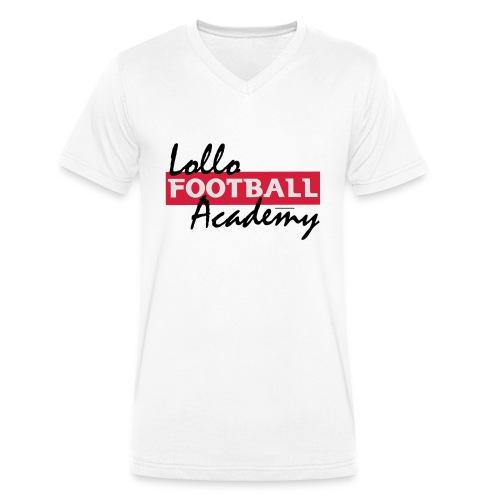 Lollo Acadmey - Ekologisk T-shirt med V-ringning herr från Stanley & Stella