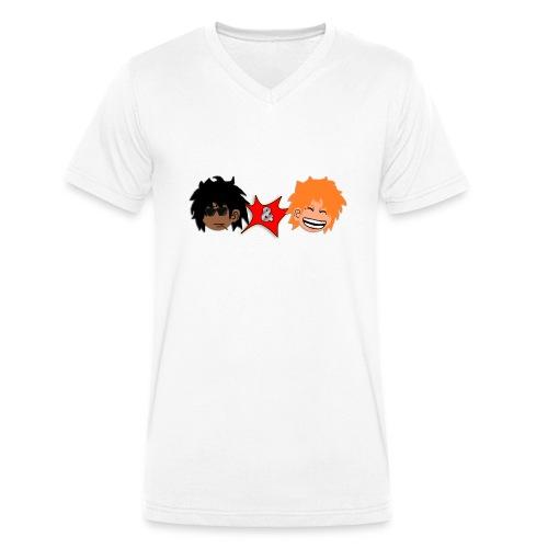 T-shirt F&Y - T-shirt bio col V Stanley & Stella Homme