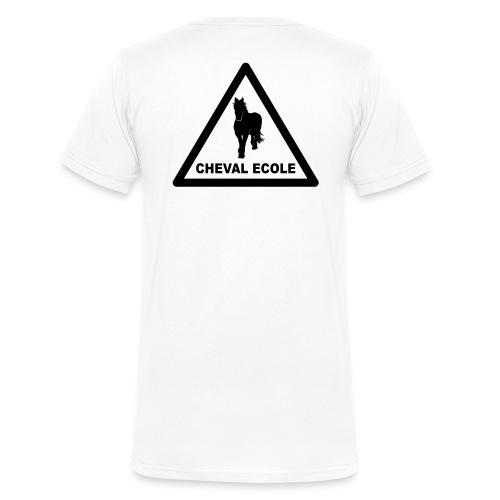 chevalecoletshirt - T-shirt bio col V Stanley & Stella Homme
