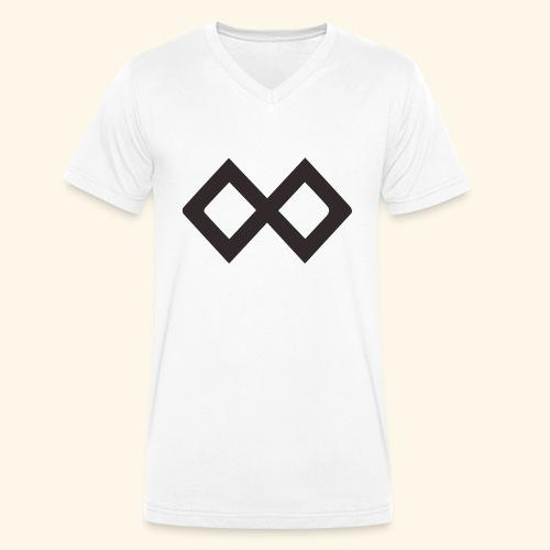 TenX Logo - Männer Bio-T-Shirt mit V-Ausschnitt von Stanley & Stella