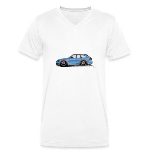 Auto Comic - Männer Bio-T-Shirt mit V-Ausschnitt von Stanley & Stella