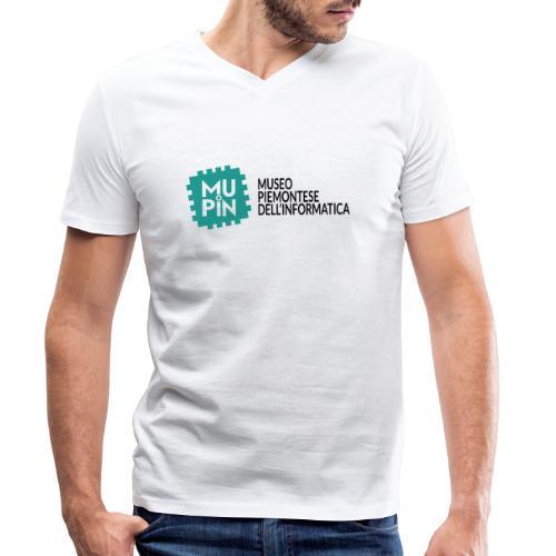 Logo Mupin con scritta - T-shirt ecologica da uomo con scollo a V di Stanley & Stella