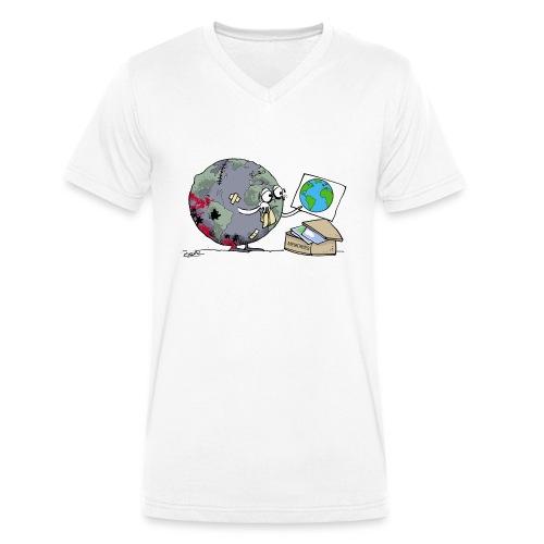 Memories - Men's Organic V-Neck T-Shirt by Stanley & Stella