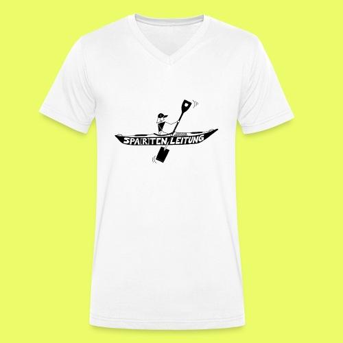 Kajak Spartenleitung - Männer Bio-T-Shirt mit V-Ausschnitt von Stanley & Stella