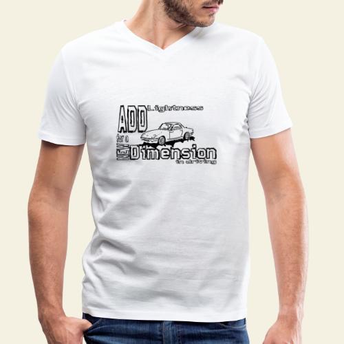 Lightness - Økologisk Stanley & Stella T-shirt med V-udskæring til herrer