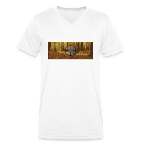 Drückjagd Wildschwein - Männer Bio-T-Shirt mit V-Ausschnitt von Stanley & Stella