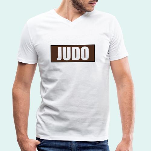Judo Braun 1. Kyu - Männer Bio-T-Shirt mit V-Ausschnitt von Stanley & Stella