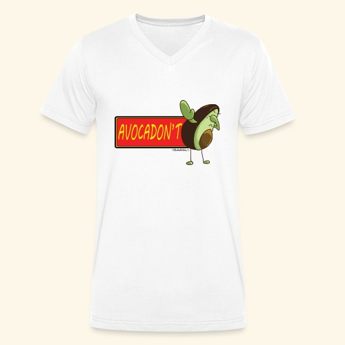 AvocaDON'T - Men's Organic V-Neck T-Shirt by Stanley & Stella