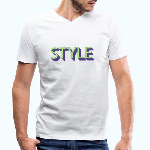 Style - Men's Organic V-Neck T-Shirt by Stanley & Stella