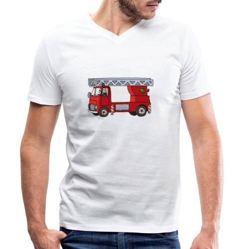 Drehleiter - Männer Bio-T-Shirt mit V-Ausschnitt von Stanley & Stella