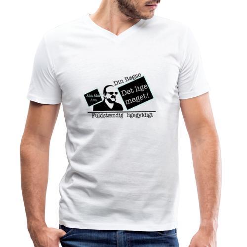 jeppe k epic wall of fame - Økologisk Stanley & Stella T-shirt med V-udskæring til herrer