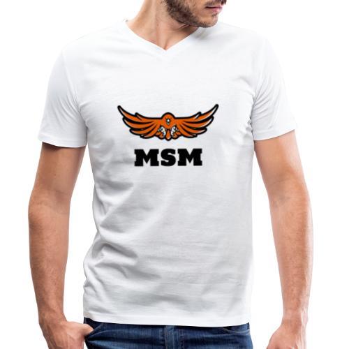 MSM EAGLE - Økologisk Stanley & Stella T-shirt med V-udskæring til herrer