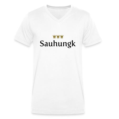 Sauhungk (Köln/Kölsch/Karneval) - Männer Bio-T-Shirt mit V-Ausschnitt von Stanley & Stella