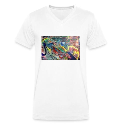 Facing Couples - Männer Bio-T-Shirt mit V-Ausschnitt von Stanley & Stella
