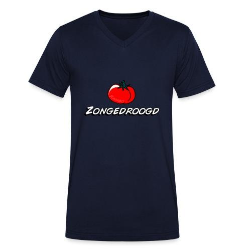 ZONGEDROOGD - Mannen bio T-shirt met V-hals van Stanley & Stella
