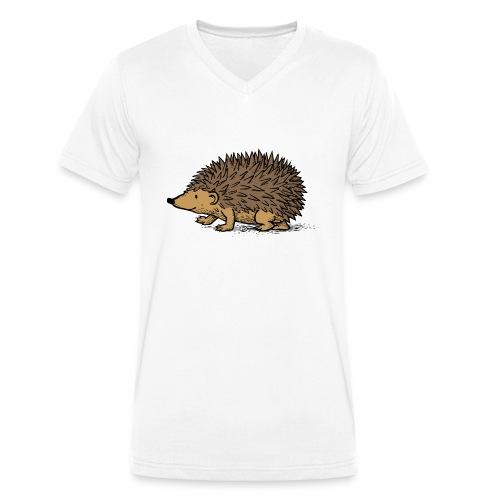 egel illustratie - Mannen bio T-shirt met V-hals van Stanley & Stella