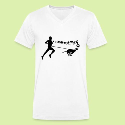 CANICROSS - T-shirt bio col V Stanley & Stella Homme