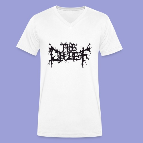 The Chief Metal Logo bw - Männer Bio-T-Shirt mit V-Ausschnitt von Stanley & Stella