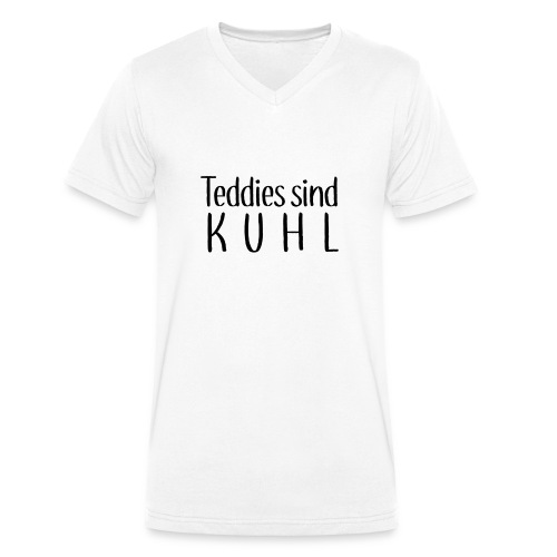 Teddies sind KUHL - Men's Organic V-Neck T-Shirt by Stanley & Stella