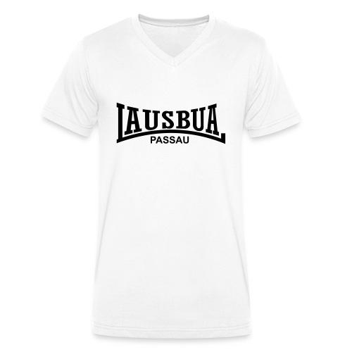 lausbua_passau - Männer Bio-T-Shirt mit V-Ausschnitt von Stanley & Stella
