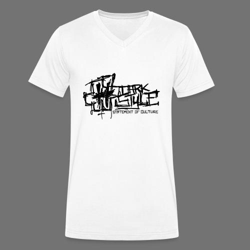Dark Style - Statement Of Culture (black) - Men's Organic V-Neck T-Shirt by Stanley & Stella
