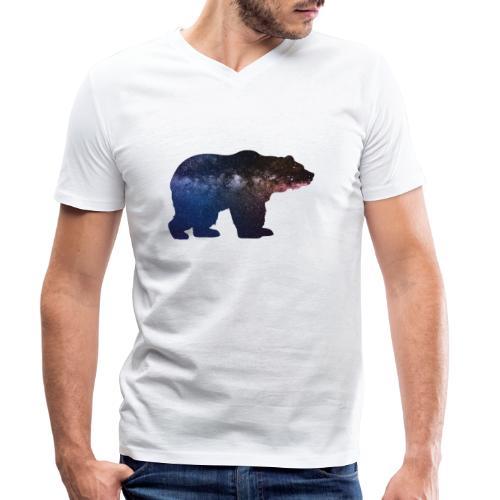 Großer Bär - Männer Bio-T-Shirt mit V-Ausschnitt von Stanley & Stella