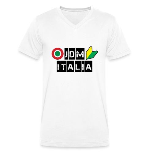 GT86 stampa ant e post - T-shirt ecologica da uomo con scollo a V di Stanley & Stella