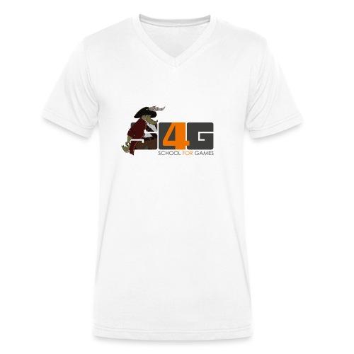 Tshirt 01 png - Männer Bio-T-Shirt mit V-Ausschnitt von Stanley & Stella