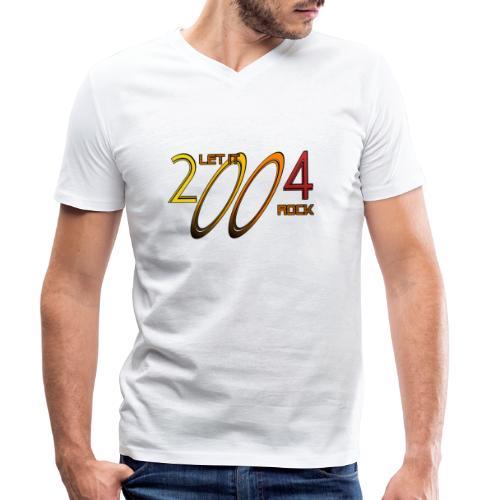 Let it Rock 2004 - Männer Bio-T-Shirt mit V-Ausschnitt von Stanley & Stella