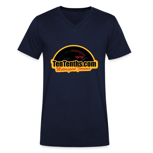 3Colour_Logo - Men's Organic V-Neck T-Shirt by Stanley & Stella