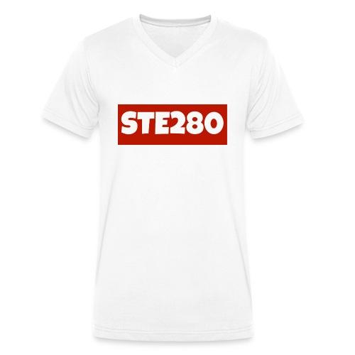 Women's Ste280 T-Shirt - Men's Organic V-Neck T-Shirt by Stanley & Stella
