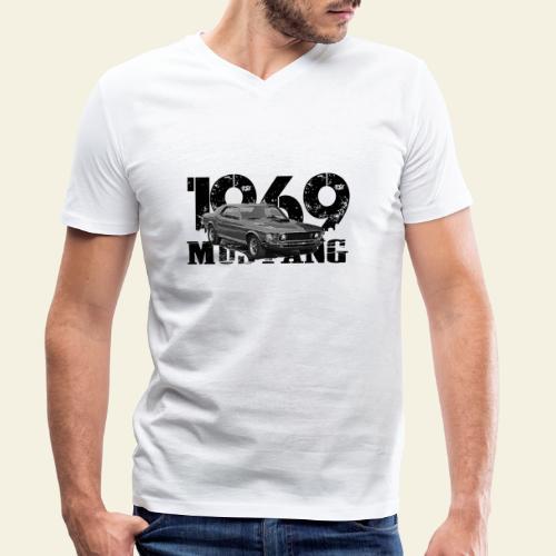 1969 - Økologisk Stanley & Stella T-shirt med V-udskæring til herrer