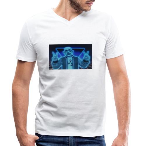 FullSizeR - Ekologisk T-shirt med V-ringning herr från Stanley & Stella