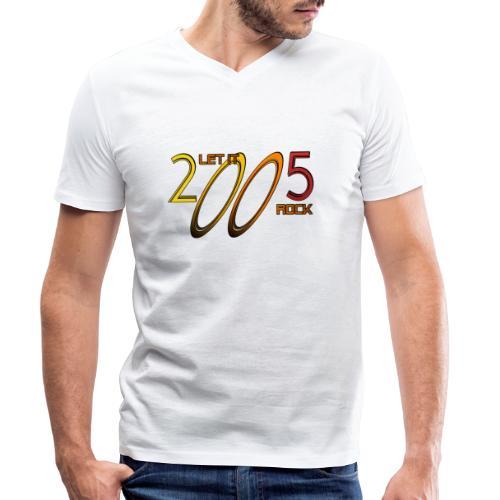 Let it Rock 2005 - Männer Bio-T-Shirt mit V-Ausschnitt von Stanley & Stella