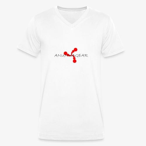 Anunnagear brand logo - Mannen bio T-shirt met V-hals van Stanley & Stella