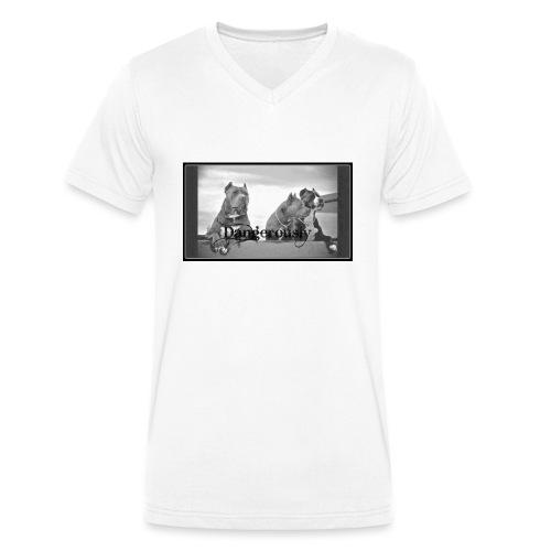 xPitbullx - Männer Bio-T-Shirt mit V-Ausschnitt von Stanley & Stella