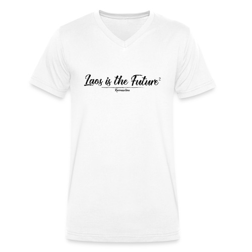 Lao is the future 2 - T-shirt bio col V Stanley & Stella Homme